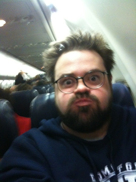 Look how fat I am on your airline.