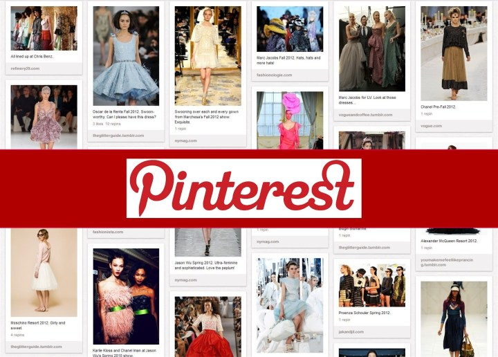 Pinterest is now used by 1/3 of the women in the USA! I recommend that all clients get a toe hold on Pinterest now by reserving their name and starting with at least 9 boards so they begin their following.