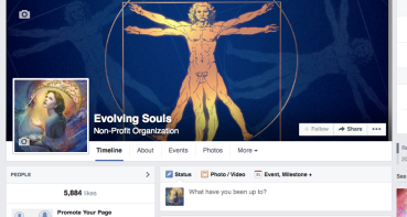 Consulted with event marketing for the Evolving Souls conference.