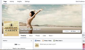 Transformational social media branding