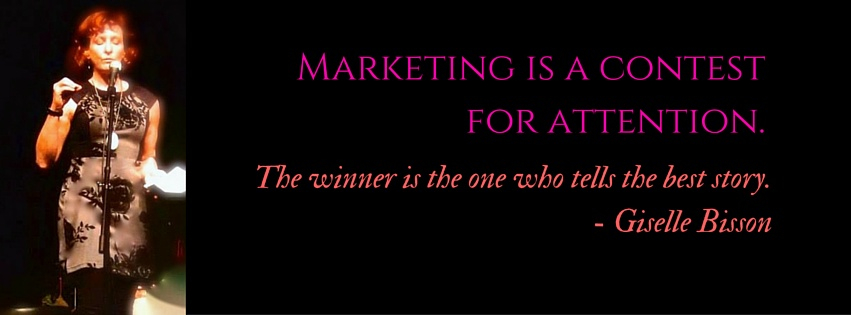 Marketing is a contest for attention.(1)
